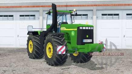John Deere 9420〡real exhaust for Farming Simulator 2015
