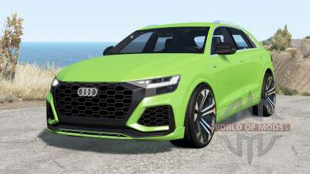 Audi RS Q8 2020 for BeamNG Drive
