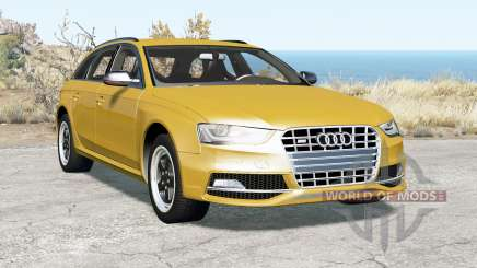 Audi S4 Avant (B8) 2012 for BeamNG Drive