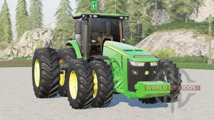John Deere 8R series〡BR version for Farming Simulator 2017