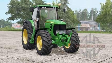 John Deere 7030 Premium〡attach configurations for Farming Simulator 2017