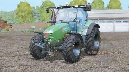Hurlimann XM 130 T4i V-Drive〡Lime Edition for Farming Simulator 2015