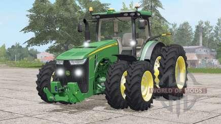John Deere 8R series〡USA for Farming Simulator 2017