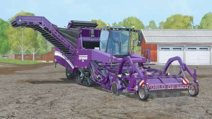 Grimme Tectron 415〡working speed 20 km-h for Farming Simulator 2015
