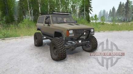 Jeep Cherokee 2-door (XJ) 1993〡off-road for MudRunner