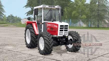 Steyr 8090A Turbo〡dynamic exhaust for Farming Simulator 2017