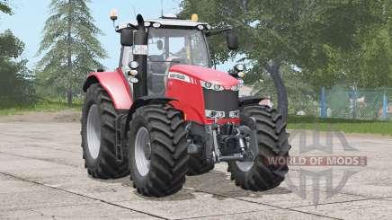 Massey Ferguson 7700 series〡wheel configurations for Farming Simulator 2017