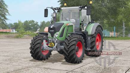 Fendt 700 Vario〡wide tyres with weights for Farming Simulator 2017