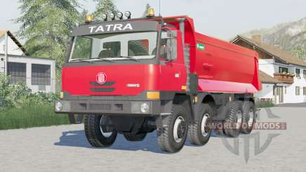 Tatra T815 TerrNo1 8x8 Dump Truck 2003 for Farming Simulator 2017