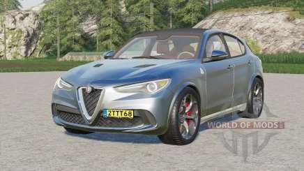 Alfa Romeo Stelvio Quadrifoglio (949) 2017 for Farming Simulator 2017
