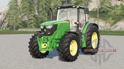 John Deere 6R series〡wheel brand configuration for Farming Simulator 2017
