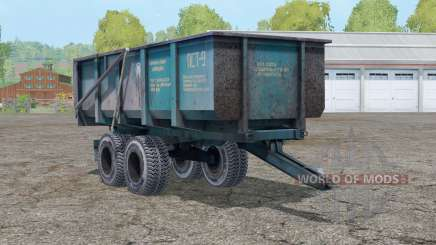 PST 9〡 transports basic cultures for Farming Simulator 2015