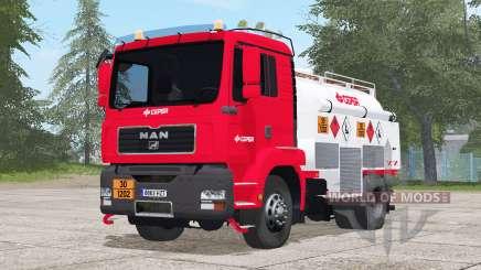 MAN TGM Fuel Truck for Farming Simulator 2017