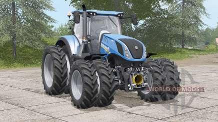 New Holland T7 series〡dual wheels for Farming Simulator 2017