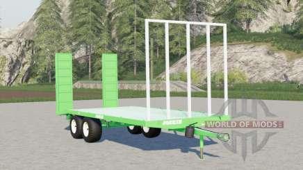 Joskin Wago-Loader〡steerable back ramp for Farming Simulator 2017