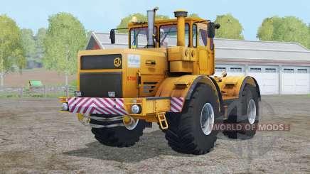 Kirovets K-700A〡s hood is thrown back for Farming Simulator 2015
