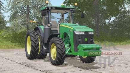 John Deere 8R series〡full customizable for Farming Simulator 2017