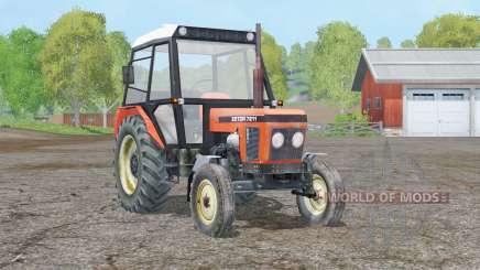 Zetor 7211〡movable axis for Farming Simulator 2015