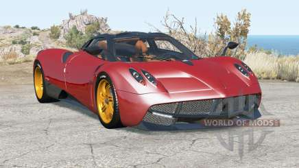 Pagani Huayra 2012 for BeamNG Drive