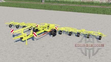 Pottinger Hit 12.14 T〡working speed 25 km-h for Farming Simulator 2017
