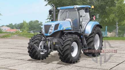 New Holland T7 series〡various tires for Farming Simulator 2017
