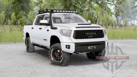 Toyota Tundra TRD Pro CrewMax 2019 for Spin Tires