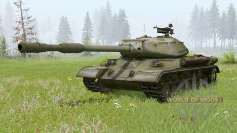 IS-4 for Spin Tires