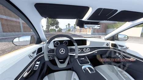 Mercedes-Benz S 400 d Lang AMG Line (V222) v4.0 for American Truck Simulator