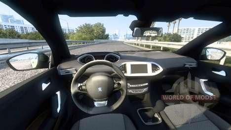 Peugeot 308 (T9) 2014 for American Truck Simulator