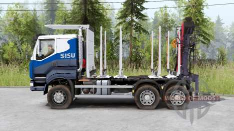 Sisu C600 Timber Truck for Spin Tires