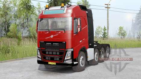 Volvo FH16 750 8x8 tractor Globetrotter cab for Spin Tires