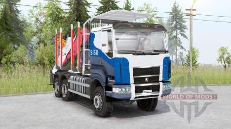 Sisu C600 Timber Truck v1.2 for Spin Tires