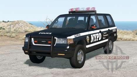 Gavril Roamer NYPD Traffic Enforcement for BeamNG Drive