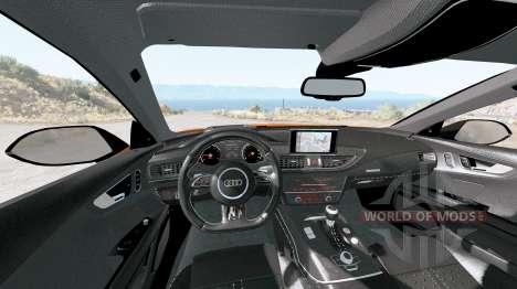 Audi RS 7 Sportback 2016 v1.2 for BeamNG Drive