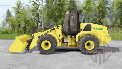 New Holland W170C v1.5 for Spin Tires