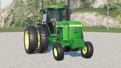 John Deere 4640〡dual rear wheels for Farming Simulator 2017