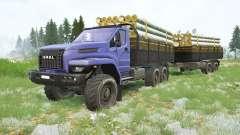 Ural Next〡own cargos for MudRunner