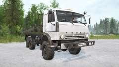 Kamaz-43114 6x6 for MudRunner