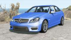 Mercedes-Benz C 63 AMG (W204) 2011 v1.1 for BeamNG Drive