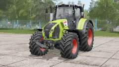 Claas Axion 800〡movable front axle for Farming Simulator 2017