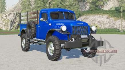 Dodge Power Wagon 1946 for Farming Simulator 2017