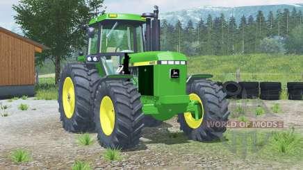 John Deere 4455〡with front loader for Farming Simulator 2013