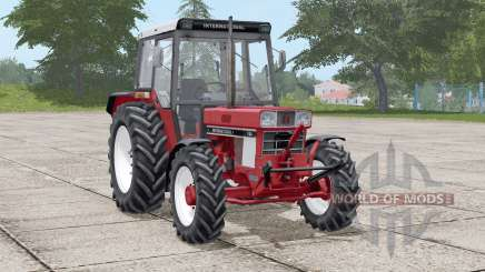 International 744〡movable front axle for Farming Simulator 2017
