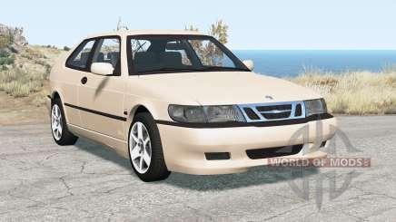 Saab 9-3 Aero coupe 1999 for BeamNG Drive