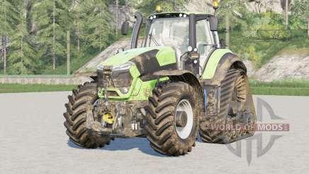 Deutz-Fahr Serie 9 TTV Agrotron〡with additional crawlers for Farming Simulator 2017