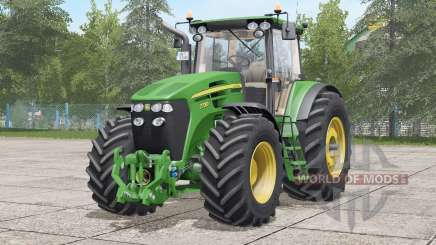 John Deere 7030 series〡Michelin tires for Farming Simulator 2017