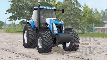 New Holland TG series〡engine configuration for Farming Simulator 2017
