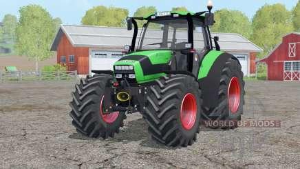 Deutz-Fahr Agrotron TTV 1145〡opening doors for Farming Simulator 2015