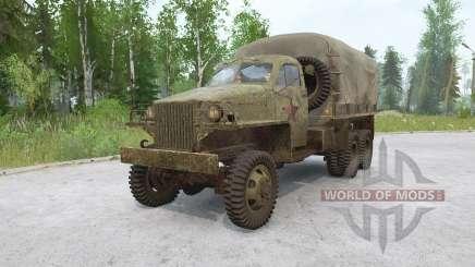 Studebaker US6 1943 for MudRunner