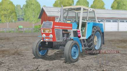Zetor Crystal 8011〡movable front axle for Farming Simulator 2015